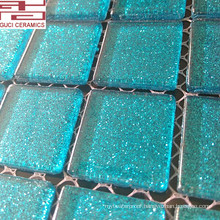 New designs crystal glass mosaic tile and high qulity bathroom tile