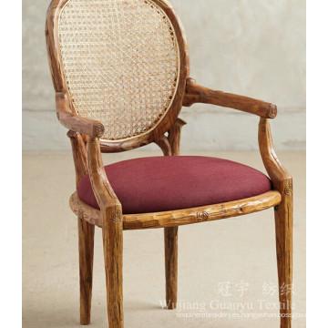Tela de ante decorativa 100% cuero de poliéster para muebles