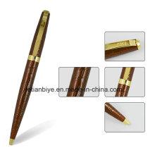 Pluma curvada de encargo del metal, pluma del regalo de la alta calidad (LT-C813)