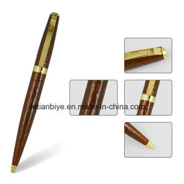 Stylo en métal incurvé par coutume, stylo de cadeau de haute qualité (LT-C813)