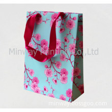 Custom Handle Paper Bag with High Quality Colorful Printing