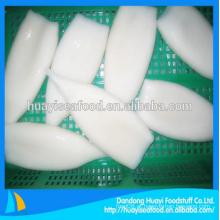 Congelados tamanho calamar tubo frutos do mar e alimentos congelados com superior fornecedor