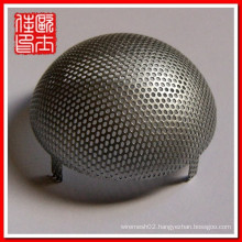 anping stainless steel perforated cylinder filter factory