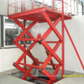 Corrosion Resistance Inground Car Scissor Lift Exterior Use