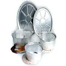 Panelas de fermentação descartáveis de alumínio da China com alta qualidade