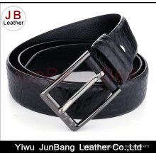 Cinturones de cuero genuinos de encargo vendedores calientes de los hombres