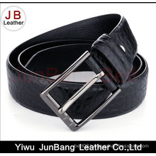 Hot Selling Custom Embossed Men Genuine Leather Belts
