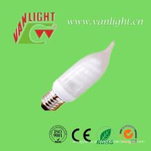 Vela forma CFL 11W (VLC-MCT-11W), lâmpada de poupança de energia