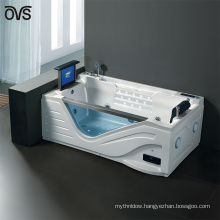 sex massage bath tub with sex video/ luxury tv massage bathtub price