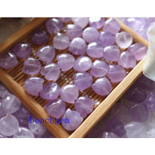 Jewelry Parts-Natural Amethyst Carved Flower