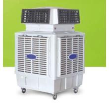 Nuevo producto 18000CMH enfriador de aire axial con el tanque de agua grande