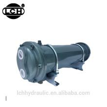 refroidisseur d'huile de ventilateur hydraulique d'excavatrice