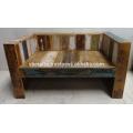 Recycled Wooden Sofa Unique Color Scrap Wood