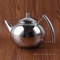 Fabricante de café frio de aço inoxidável da fermentação dos utensílios de mesa / potenciômetro puro do chá da chaleira da cor da prata
