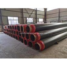 Heat Preservation Polyurethane insulation pipe steel jacket