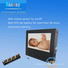 7 polegadas mini tela LCD