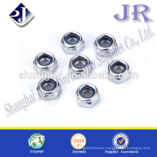 hex heavy nut and nylon jam nut