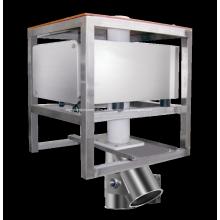 Máquina detectora de metales de caída por gravedad