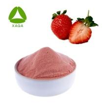 Extrait de fraise Poudre de fruit de fraise Poudre séchée par pulvérisation