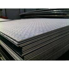 Placa de piso de acero inoxidable / placa de acero de la hoja de acero inoxidable de 2b