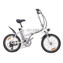 Vélo pliable de cadre d'alliage, vélo électrique se pliant, vélo électrique pliable de Chine