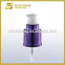Pompe lotion anti-UV plastique 18 mm