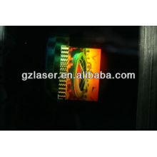 Прозрачные стеклянные листы из голограммы