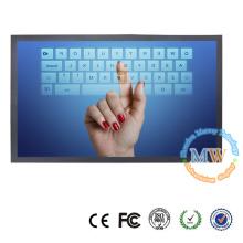 """Monitor de ecrã táctil de 19 """"de ecrã largo com alimentação USB"""