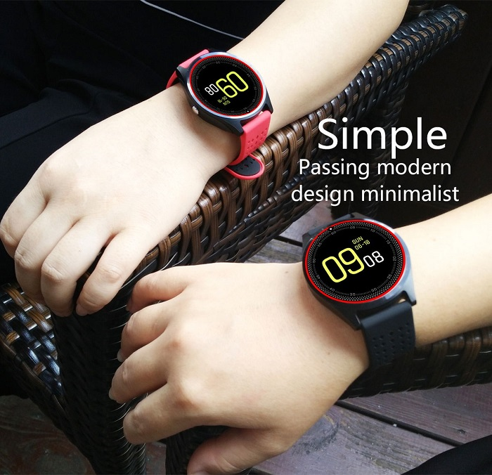 DL-V9 Translucent touch screen smart watches