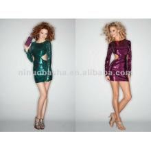 NY-2363 Extra lange Hülse mit seitlichen Ausschnitten Quinceanera Kleid