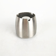 wholesale round windproof stainless steel outdoor dubai ashtray