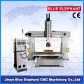 boat mould 5 axis cnc router, eps/plastic carving cnc router