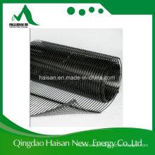 Haisan Unidirecional 80kn Plástico PP Geogrid Usado em Muro de Contenção