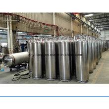 Good Quality Stainless Steel Middle Pressure Liquid Nitrogen Dewar Seamless Steel Gas Cylinder