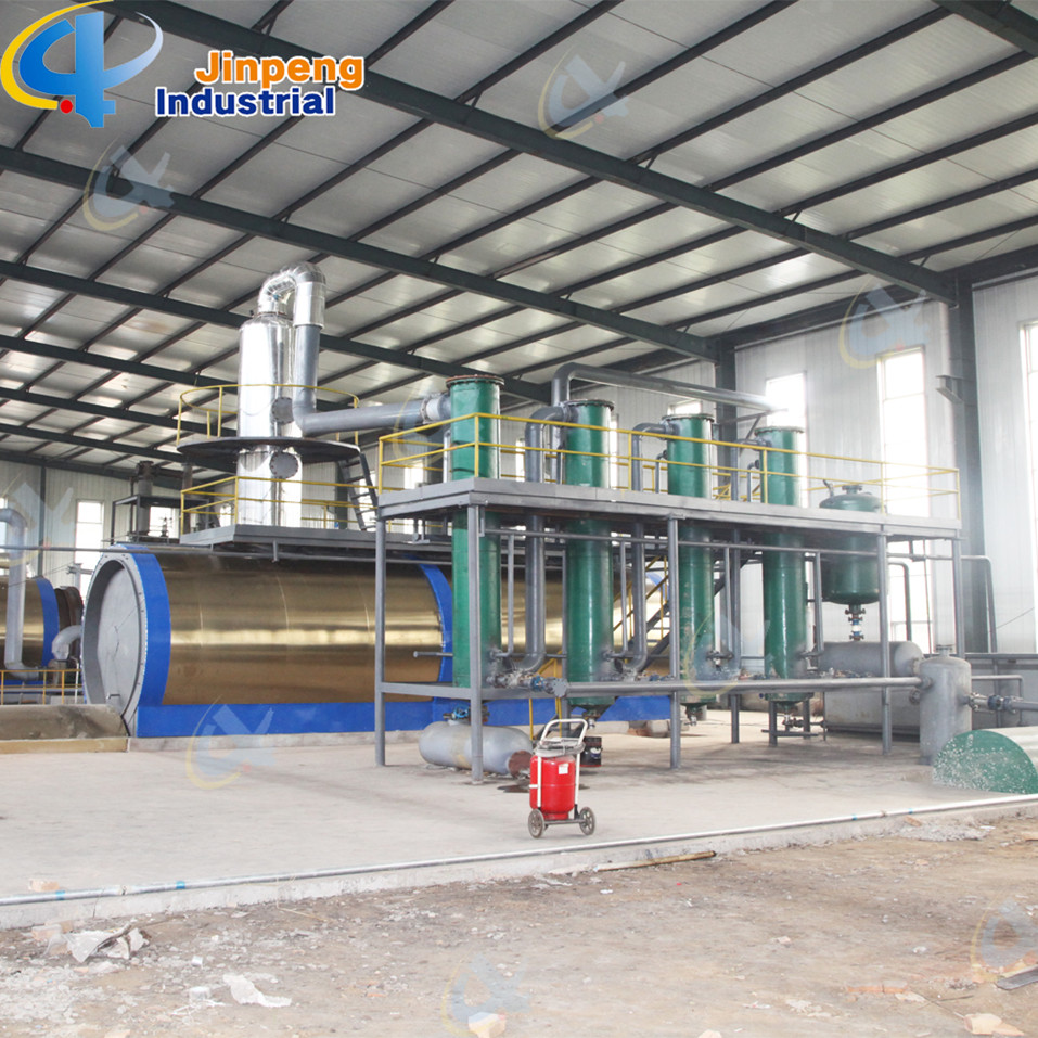 Waste Engine Oil Refining and Distillation Plant
