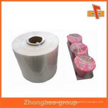 Vente en gros de film rétrécissable POF à l'humidité dans un film plastique en Chine