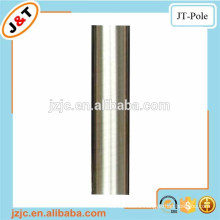 shower curtain tension rod stainless nickle, length 6m curtain pole, twisted brass pole
