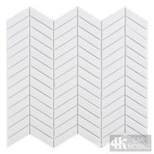 White Glass Mosaic Tile Sale for Bathroom Decoration