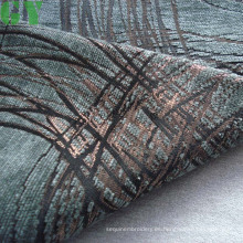 Tela de sofá/cortina/tapizar de chenille del telar jacquar (G44-126)
