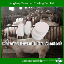 Désinfectant à base de dioxyde de chlore gratuit pour la désinfection de l'élevage