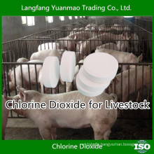 Free Sample Chlorine Dioxide Disinfectant for Livestock Disinfection