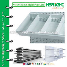 plastic shelf display box for supermarket rack