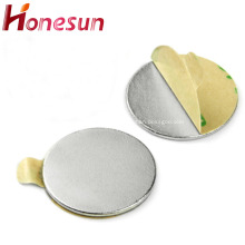 Powerful N35 Neodymium Disc Magnet With 3M Adhesive
