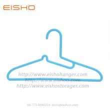EISHO Heavy Duty Adult Blue Plastic Closet Hangers