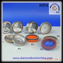 Diamant- und CBN-Schleifscheibe für Hartmetall
