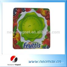 Goma de encargo del pvc de la fruta 3D