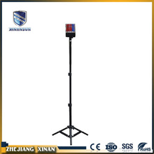 movable portable led warning trafffic light
