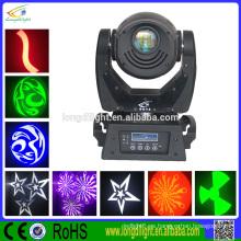 Guangzhou nuevos productos 90W punto moviendo la cabeza partido de iluminación