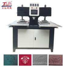 Étiquette de vêtements presse gravant en refief de Machine de chauffage