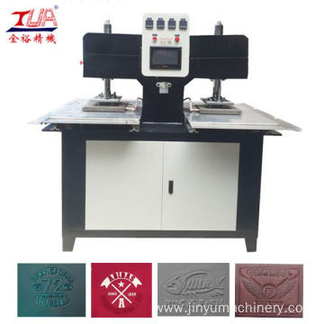 Heating Press Clothes Label Embossing Machine